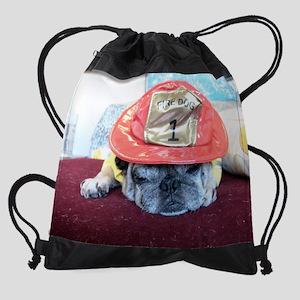 pug halloween Drawstring Bag