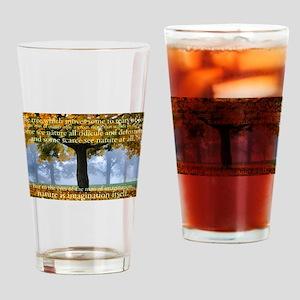 Tree 5 Drinking Glass