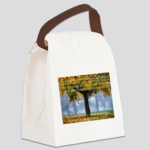 Tree 5 Canvas Lunch Bag