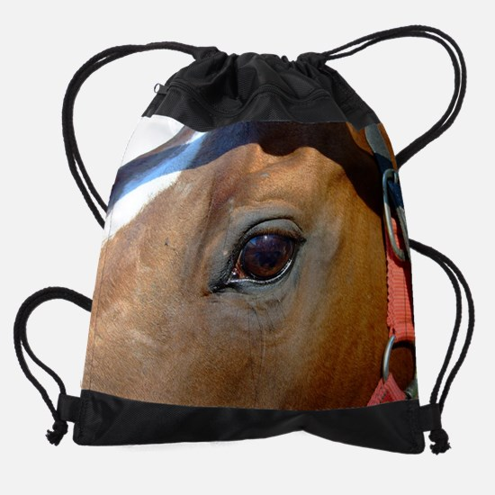 aledo eye.jpg Drawstring Bag