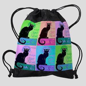 chatsnoirCALPRINT Drawstring Bag