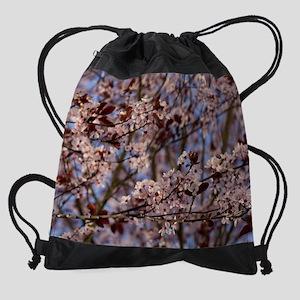 03_plumblossoms Drawstring Bag