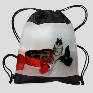 February Gerbil Drawstring Bag