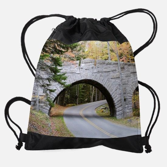 Arcadia Natl Park.png Drawstring Bag