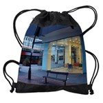 city sceneCALENDAR - WALL 75_H_F co Drawstring Bag