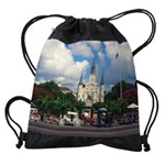 louisianAcalendar copy Drawstring Bag