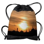 sunset CALENDAR - WALL 75_H_F Drawstring Bag