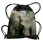 elephantCALENDAR - WALL 75_H_F Drawstring Bag