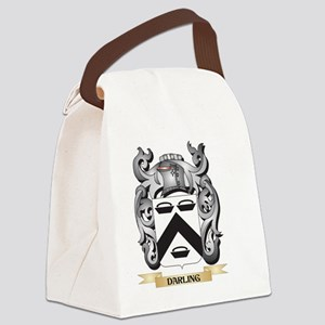 Darling Coat of Arms - Family Cre Canvas Lunch Bag