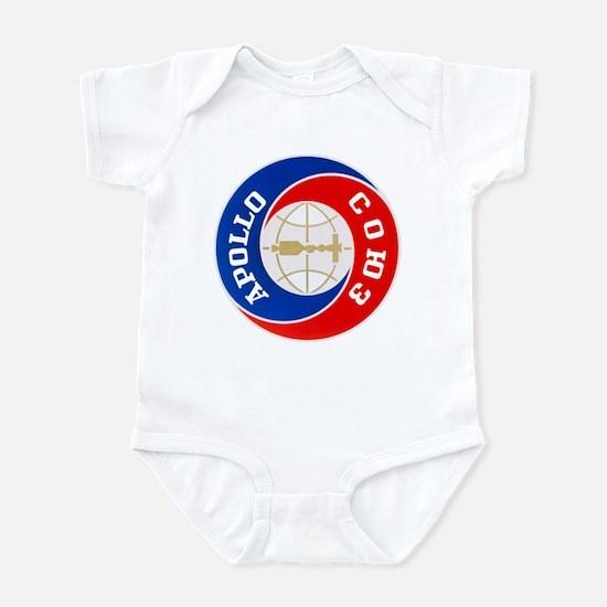 Apollo Soyuz Logo Infant Bodysuit