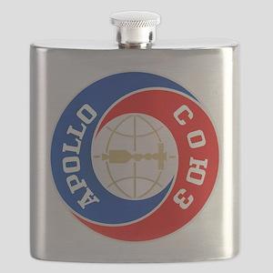 Apollo Soyuz Logo Flask