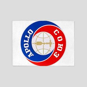 Apollo Soyuz Logo 5'x7'Area Rug