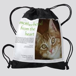 May Motherhood Drawstring Bag