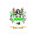Bernabeu Sticker (Rectangle 50 pk)