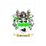Bernabeo Sticker (Rectangle 50 pk)