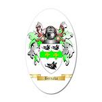Bernaba 35x21 Oval Wall Decal