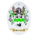 Bernaba Ornament (Oval)