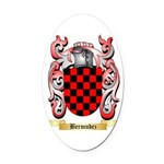 Bermudez Oval Car Magnet