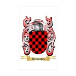 Bermudez Sticker (Rectangle 50 pk)