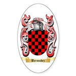 Bermudez Sticker (Oval)