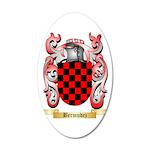 Bermudez 35x21 Oval Wall Decal