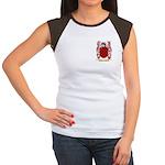 Bermudes Women's Cap Sleeve T-Shirt