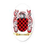 Bermudes Oval Car Magnet