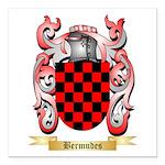 Bermudes Square Car Magnet 3