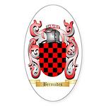 Bermudes Sticker (Oval)