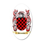 Bermudes 35x21 Oval Wall Decal