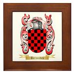 Bermudes Framed Tile
