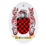 Bermudes Ornament (Oval)