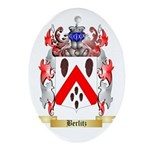 Berlitz Ornament (Oval)