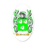 Berley Oval Car Magnet