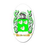 Berley 35x21 Oval Wall Decal