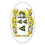 Berkowicz Sticker (Oval 50 pk)