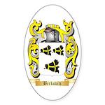 Berkovitz Sticker (Oval 50 pk)
