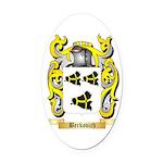 Berkovich Oval Car Magnet