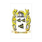Berkovich Sticker (Rectangle 50 pk)