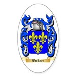 Berkner Sticker (Oval 50 pk)