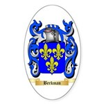 Berkman Sticker (Oval 50 pk)