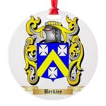Berkley Round Ornament