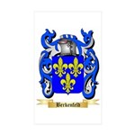 Berkenfeld Sticker (Rectangle 10 pk)