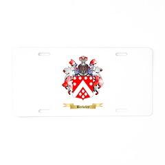 Berkeley Aluminum License Plate