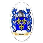 Berke Sticker (Oval 50 pk)