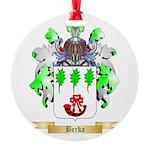 Berka Round Ornament