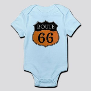 Rt 66 Wood Stone Steel Infant Bodysuit