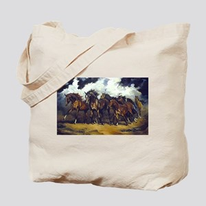 THREAT OF REIN Tote Bag