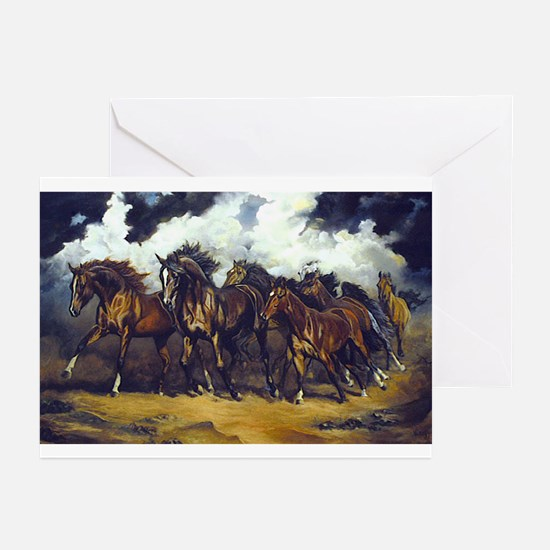 THREAT OF REIN Greeting Cards (Pk of 10)