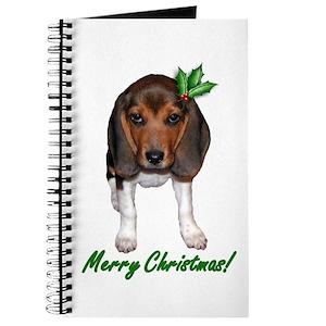 beagle christmas notebooks cafepress - Christmas Beagle